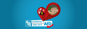 Kommunalwahl - AfD Kaiserslautern - Banner