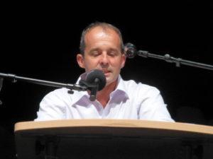 Veranstaltung in Kusel am 21.08.2021 Direktkandidat Marco Staudt